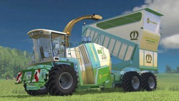 Krone BIG X 650 CARGO (EDITED) LS15