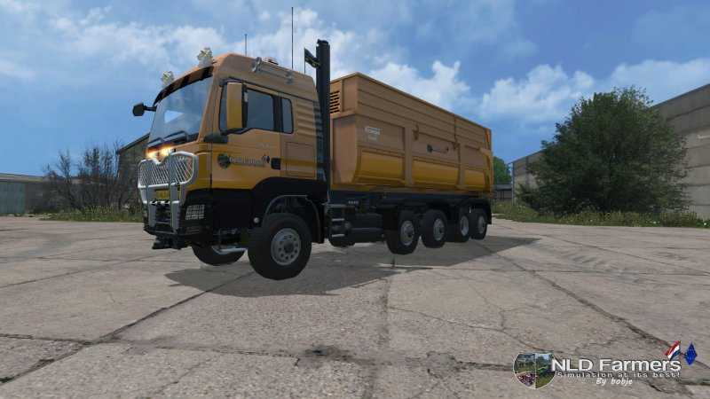 MAN TGS 8×8 krampeBB900S pack v1 3 - LS15 Mod | Mod for