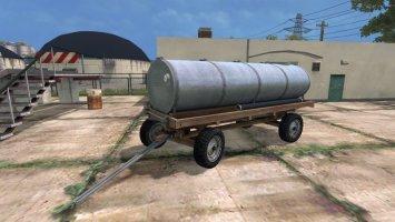 Old Tank trailer LS15