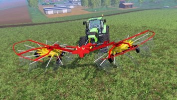 POETTINGER FRONT WINDROWER ls15