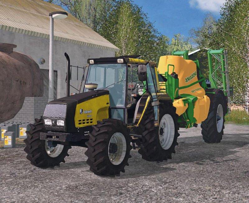 Valtra Valmet 6400 V 2.0 Washable - LS15 Mod | Mod for Farming Simulator 15 | LS Portal