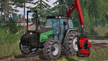 Valtra Valmet 6600 Forest Washable ls15