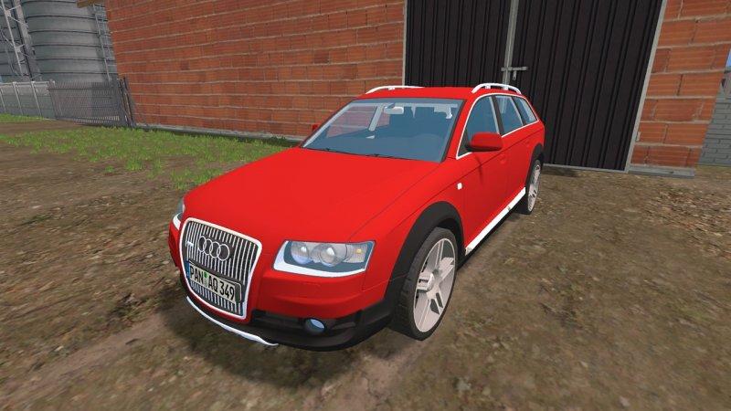 Audi A6 Allroad Quattro - LS15 Mod | Mod for Farming Simulator 15 | LS Portal