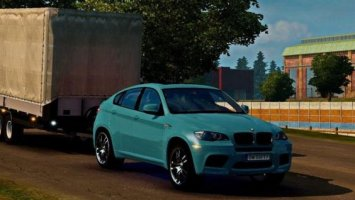 BMW X6 SPORT EDITION + TRAILER ETS2