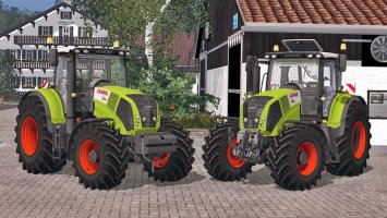 Claas Axion 850 v2.0 Pack ls15