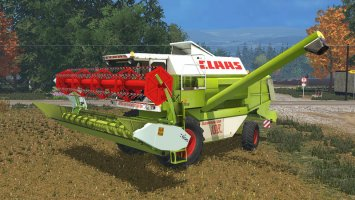 Claas Dominator 108SL Advanced LS15