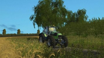 Deutz Fahr 7250TTV Real Engine LS15