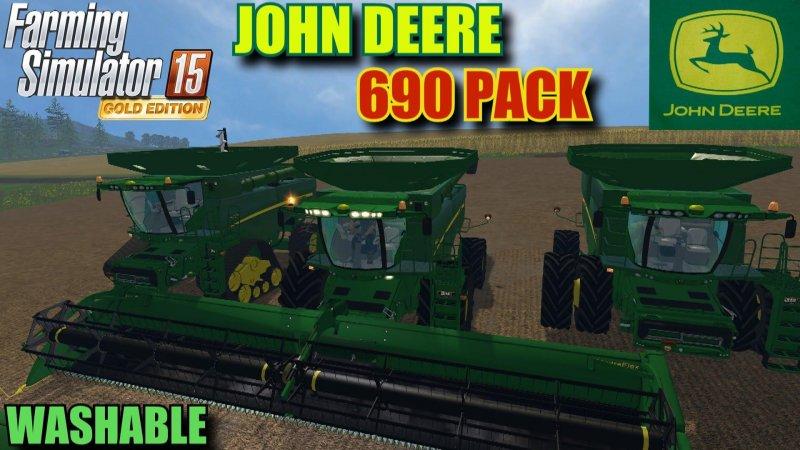 JOHN DEERE 690 PACK WASH V2 LS15
