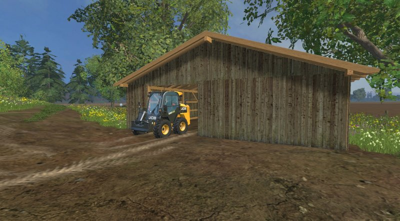 lagerhalle f r kleinger te ls15 mod mod for landwirtschafts simulator 15 ls portal. Black Bedroom Furniture Sets. Home Design Ideas