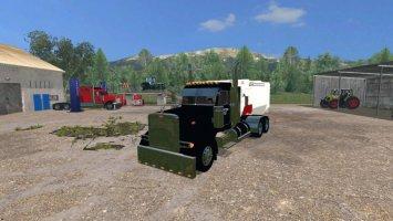 Peterbilt 379 Feed Truck