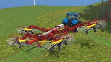 Pöttinger Top 1252 *Separately Arm Lift* LS15