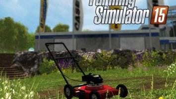 Push Lawn Mower LS15