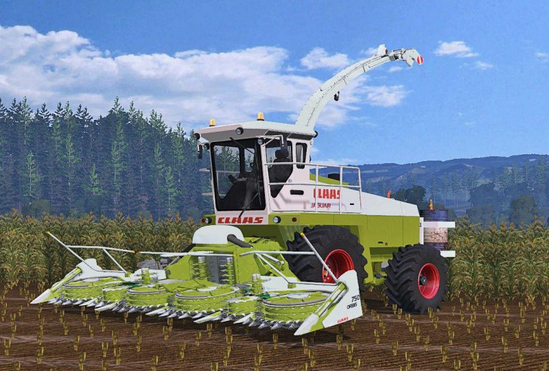CLAAS JAGUAR 685 WASHABLE V 2