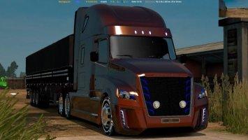 Daimler Freightliner Inspiration v 3.0 1.24 Fix ETS2