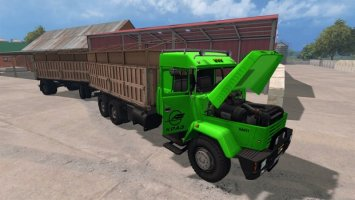 KrAZ 64431 and Trailer LS15