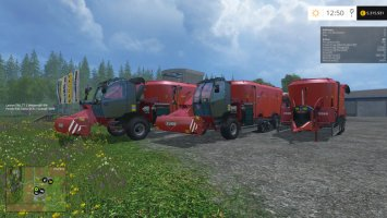 Kuhn SPV Goliath Pack LS15