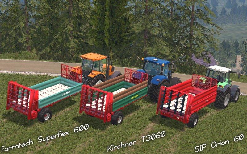 Miststreuerpack Farmtech/Kirchner/SIP LS15