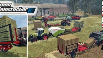 Pack Balestacker and baler attacher v1.1 ls15