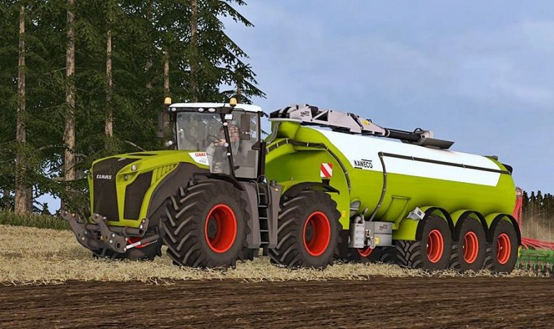 Claas Xerion 5000 Pack FS17