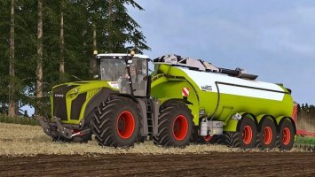 Claas Xerion 5000 Washable (Wheel Shader) ls15