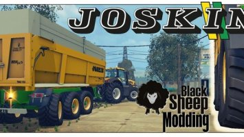 Joskin Trans Space 8000 23 Tridem v4.1 with WheelShader LS15