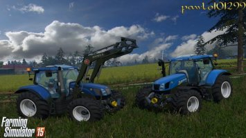 New Holland T6 175 LS15