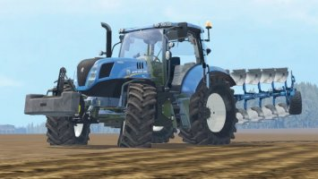 New Holland T7240 ls15
