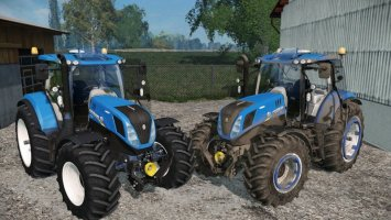 NEW HOLLAND T7240 VehicleWheels ls15