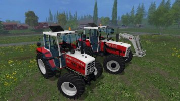 STEYR 8080a Turbo SK2 + 8110a Turbo SK2 + Frontlader ls15