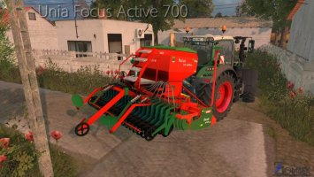 UNIA FOCUS ACTIVE 700 washable ls15