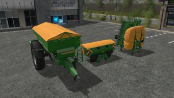 Amazone fertilizers and sprayers modpack