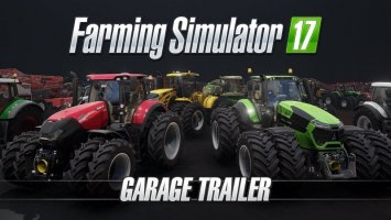 Farming Simulator 17 – Garage Trailer NEWS
