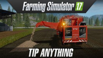 Farming Simulator 17 - Tip Anything NEWS