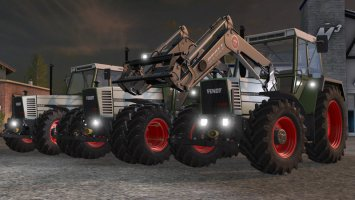 Fendt Farmer 310 312 LSA Turbomatik Pack FS17