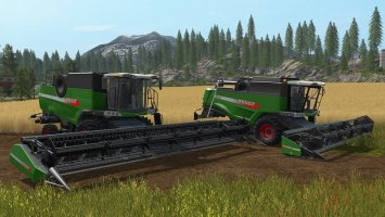 Fendt Harvester Pack v1.0.0.2 FS17