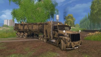 GAZ Titan and Trailer v3.5 LS15