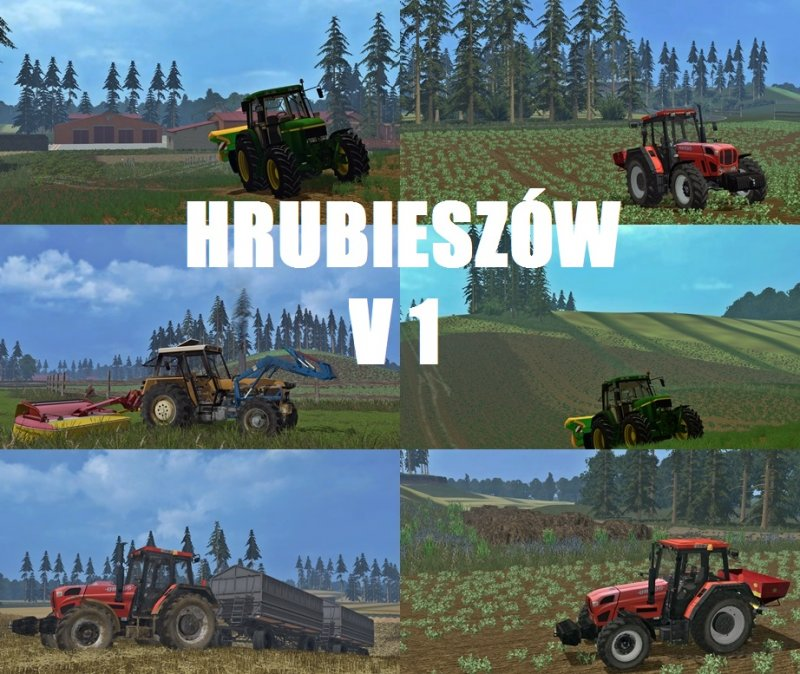 Hrubieszów Map V LS Mod Mod For Landwirtschafts Simulator - Southern norway map ls15