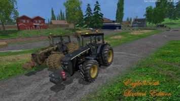 John Deere 8530 v3 Black Limited ls15