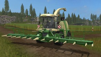 Krone BiG X 1100 Pack v1.0.0.1 FS17