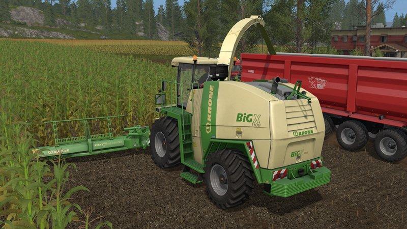 Krone big x 1100 pack fs17 mod mod for landwirtschafts simulator 17 ls portal - Englisch krone ...