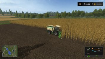 Krone Big X 580 with tank FS17