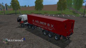 MAN A Helmer B.V. 75m3 LS15