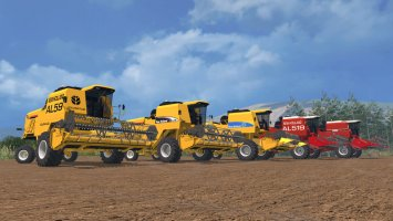 New Holland AL Pack - Autoleveling Combines LS15