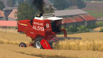 New Holland AL Pack - Autoleveling Combines LS15