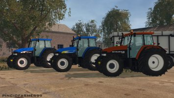 New Holland Pack (M160 TM175 TM190) v2 ls15