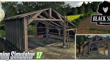 Old Shed With Light Placeable