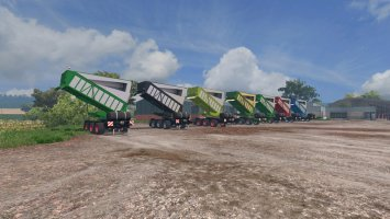 Silage transport trailer v3 ls15