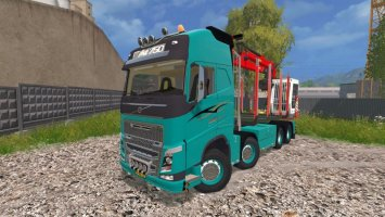 Volvo FH 750 Forest ls15