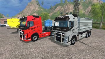 Volvo FH16 and Trailer V1.1 ls15