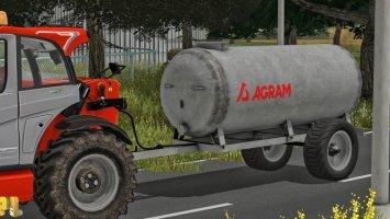 Agram water tank 5000 fs17